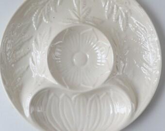 California Pottery Artichoke Plate