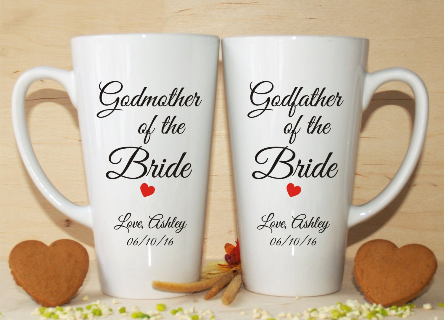 Wedding Gifts For Godparents : Godmother of the bride gift-Godfather of the bride
