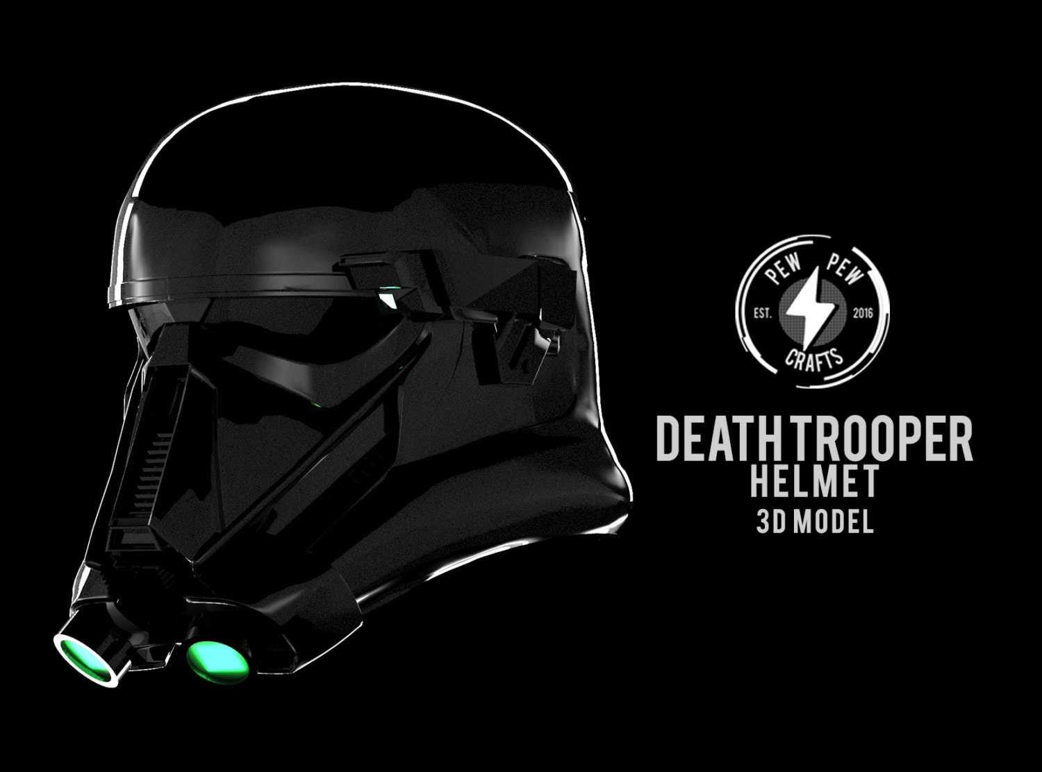 death trooper 3d model v1 digital file rogue one. Black Bedroom Furniture Sets. Home Design Ideas