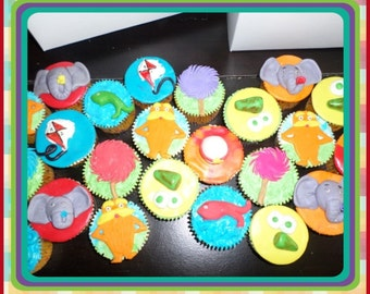 DR. Seuss Edible Cupcake Toppers 12
