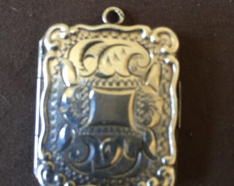 Vintage Silver Photo Locket