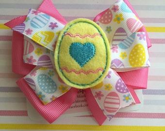 Easter Egg Hair Bow