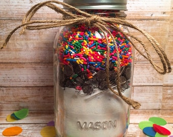 Birthday Pancake Mix-pancake mix in a jar-pancakes-birthday-pancake mix