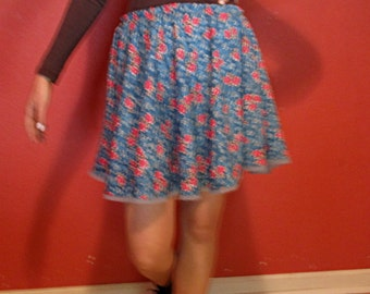 Skirt: floral jump