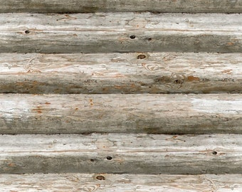 Log Cabin Wallpaper
