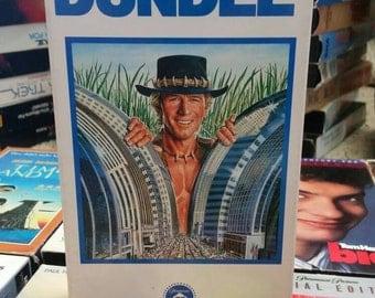 Crocodile Dundee VHS- 80's Nostaligia Comedy