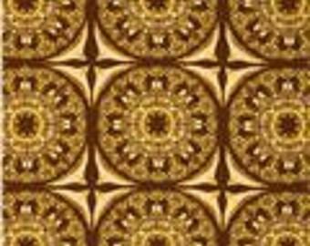"Free Spirit Tina Givens    ""Fortiny"" Soiree  Hazelnut  Cotton Fabric"