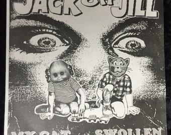 """Jack Off Jill """"My Cat""""/""""Swollen"""" - 7"""""""