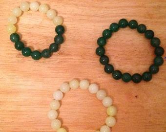 Green Adventurine Bracelets