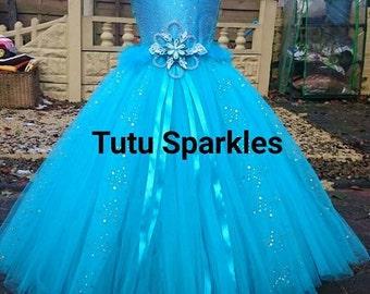 Elsa Inspired Tutu Dress