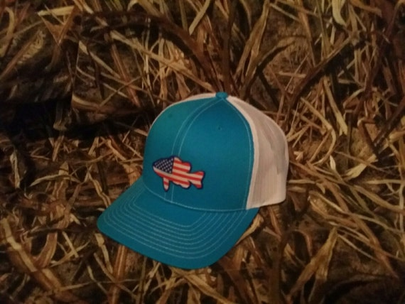 American bass hat bass fishing bass hat bass by wetlandnation for American flag fish hat