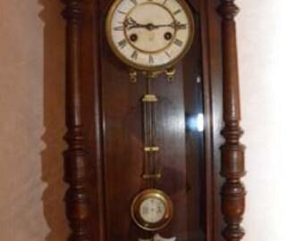 Vintage German Junghans starburst clock wall clock Made in