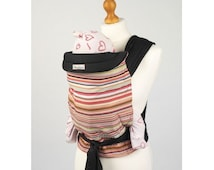 Palm and Pond Mei Tai Baby Carrier - Coloured Stripes