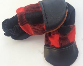 Leather toe Kampers