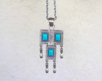 Turquoise Bay Pendant Necklace