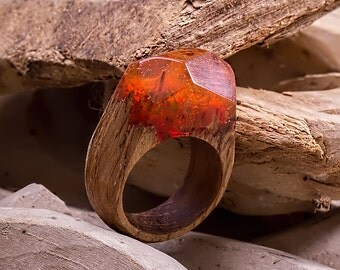 Ring Orange Forest