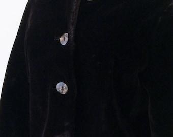 1960's Faux Fur Evening Jacket