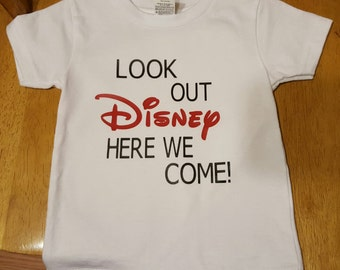 FREE SHIPPING ***Look out DISNEY here we come!