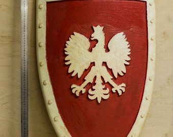 Poland LARP Shield