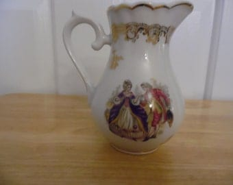 Very Pretty Vintage Vase Approximately 8 Inches Tall