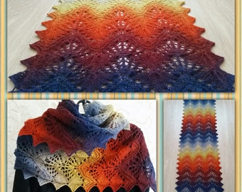 Knitted Handmade Scarf