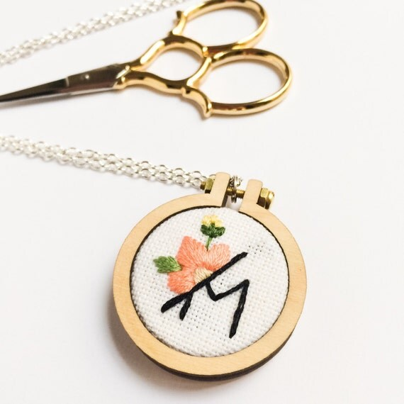 letter necklace custom initial jewelry initial pendant