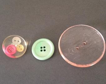 Vintage buttons set