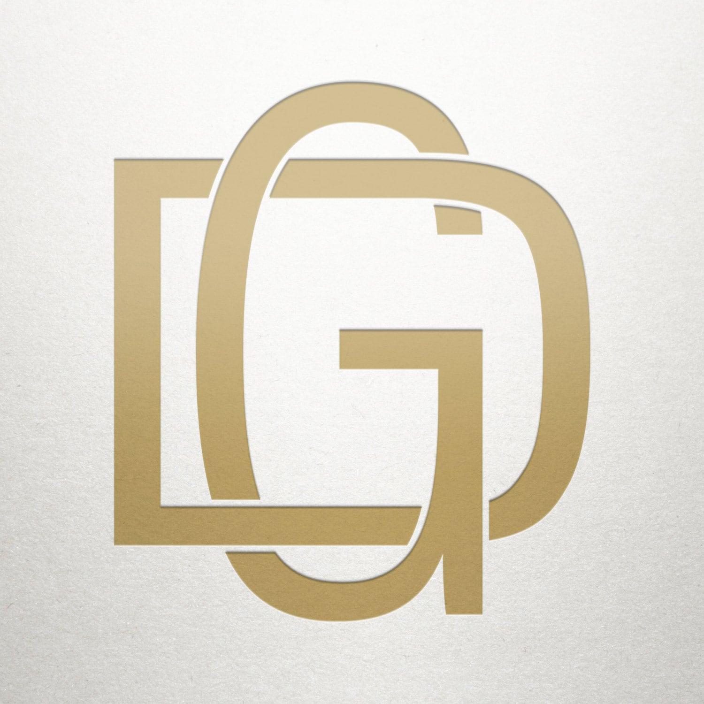 Modern Logo Design DG GD Modern Logo Digital