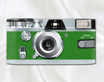 Retro Shimmer Green