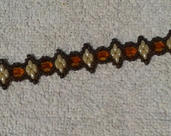 Chocolate Twin Peaks Bracelet