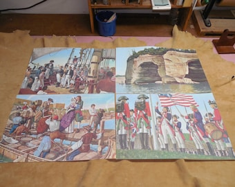 A History of Michigan in Paintings Set 2