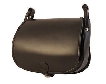 Leather purse Small leather bag Women shoulder bag Leather boho bag Small leather crossbody Brown leather bag Black leather messenger bag