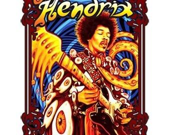 Jimi Hendrix 2 sided Tee-Shirt