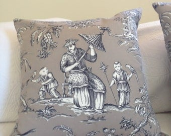 Chinoiserie Cushion/Pillow Cover