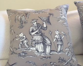 Chinoiserie Cushion/Pillow Cover