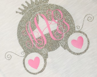 Princess Carriage with monogram