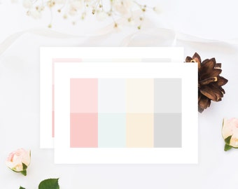 Pastel ESSENTIALS: The 8 & 12 Squares  (2 Sheets)