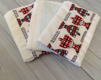 Bow Tie Burp Cloths - Little Man Burp Cloths