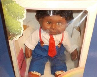 Rare, HTF African American Black Wanna-Be Doll Executive Doll NRFB