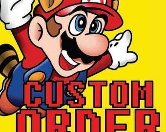 Custom NES reproduction game