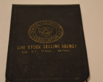 Vintage Pocket Notebook 1933