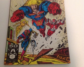 Marvel Comics The Eternals Issue #1 1991 Giant Sized Spectacular