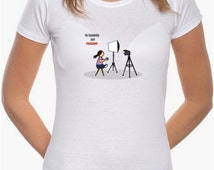 T-shirt I am also a Youtuber white