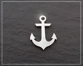 Anchor Necklace Charm Sterling Silver .925 Nautical Charm Pendant For Necklace