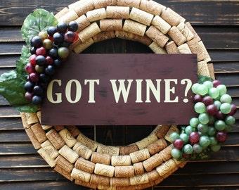 Got Wine Wreath