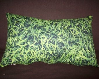 digital print Cushion cover grass