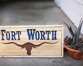 Fort Worth Wood Art