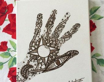 Soulful Hand Original Art