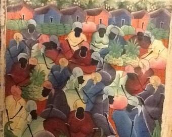 "Haitian Art ""People"""
