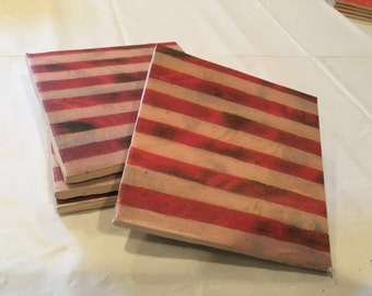 Ceramic Coasters - Stripes